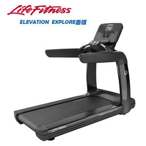 力健lifefitness高端跑步机elevation se触摸屏幕室内进口健身器