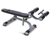 康乐佳KPOWER可调腹肌板K006健身房器材高端商用器械江苏总代理